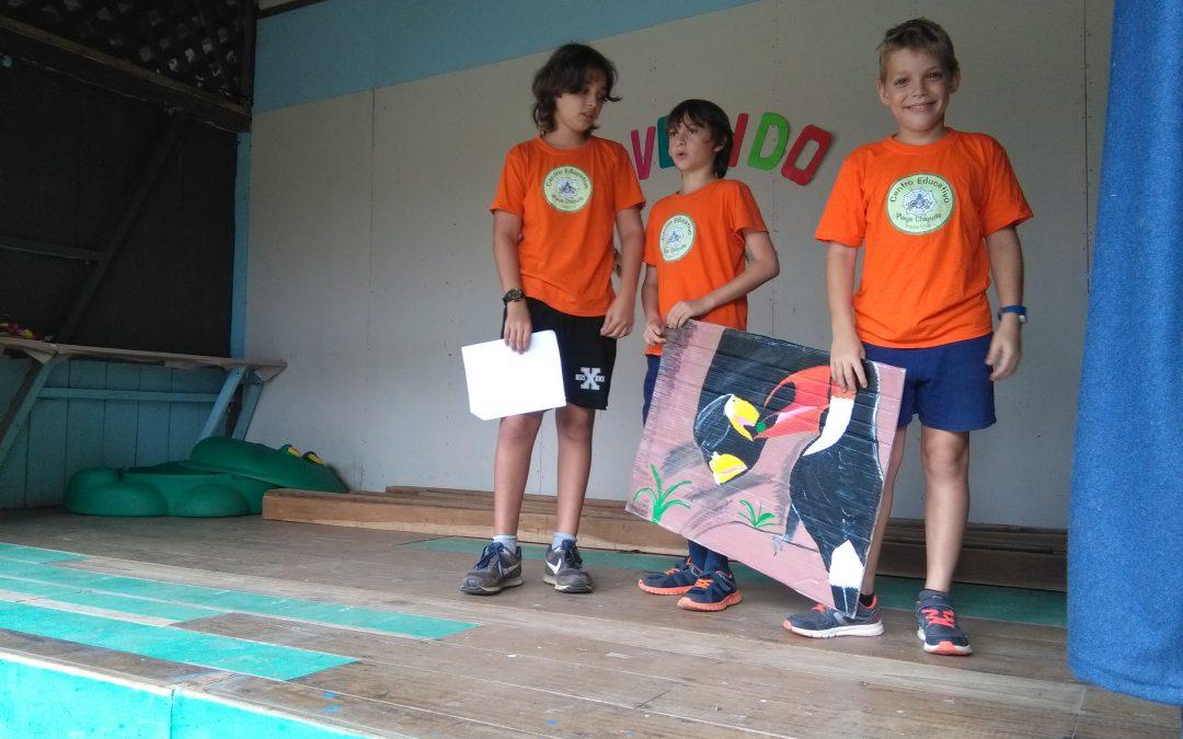 Erster Workshop im neuen Schuljahr: Die Wichtigkeit des Waldes für die Tierwelt