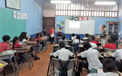 Umweltbildungskurs von Projektpartner ECODESI