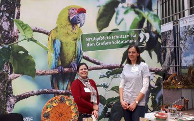 Ein erfolgreiches Wochenende! Tropica Verde war für den Großen Soldatenara auf der Grünen Börse in Frankfurt