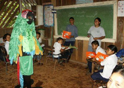 Umweltbildung in der Schule von La Quezada