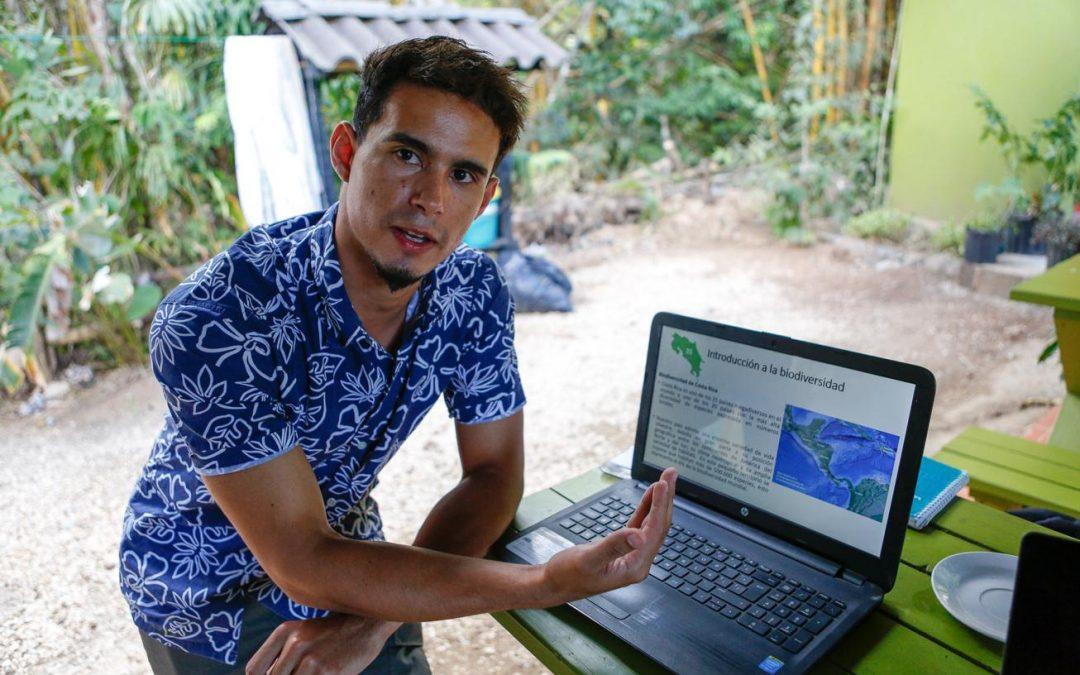 Neuer Leiter für Umweltbildung in Monte Alto