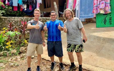 Die Tropica Verde Aktivisten Michael Ott und Stefan Rother unterstützen von der Corona-Krise betroffene Familien in Costa Rica – unterstützen auch Sie!